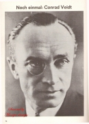 Articles about Conrad Veidt's life and career