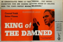 King of the Damned (1935/36) - herald