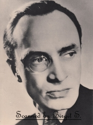Conrad with monocle - publicity portrait for I Was a Spy (1933)